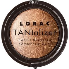 LORAC TANtalizer Baked Bronzer, Golden Glow 1 ea (110 BRL) ❤ liked on Polyvore featuring beauty products, makeup, cheek makeup, cheek bronzer, beauty, bronzer, cosmetics, faces, filler and lorac
