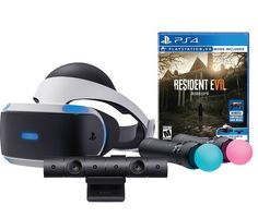 Sony PlayStation VR Resident Evil 7:Biohazard Starter Bundle 4 items:VR Headset,Move Controller,PlayStation Camera Motion Sensor,Resident Evil 7:Biohazard Game Disc   Includes: VR headset, Processor unit, VR headset connection cable, HDMI cable, USB cable, Stereo Read  more http://themarketplacespot.com/sony-playstation-vr-resident-evil-7biohazard-starter-bundle-4-itemsvr-headsetmove-controllerplaystation-camera-motion-sensorresident-evil-7biohazard-game-disc/