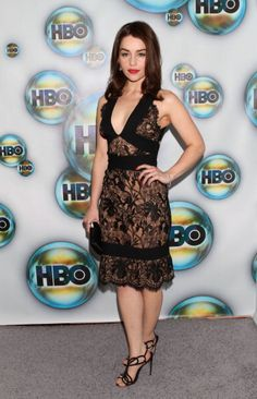Is Game of Thrones' Emilia Clarke the Next Big Red Carpet Style Star?: Looking super sexy at a Golden Globes after party in January 2012.