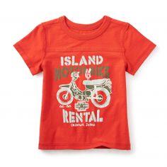 Bali Bike Graphic Tee