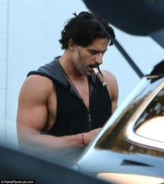Would Sofia like that? The True Blood Hunk was even pictured with a giant cigar in his mouth at one point