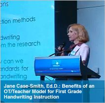 Presentations from the Handwriting Summit - jackpot on information to justify handwriting in today's classroom