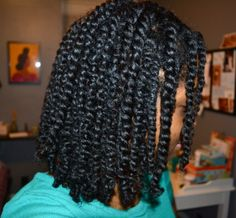 Chai has the most to die for two strand twists ever!  www.backtocurly.com
