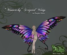 """New """"Monarchy"""" Fairy Wings Just Released at FancyFairy! Description from fancyfairy.wordpress.com. I searched for this on bing.com/images"""