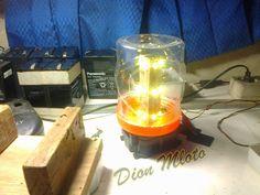 Handycraft Lampu Hemat Energy LED : Bikin Lampu JT 27 LED Dari Toples Lebaran | Dion Mloto
