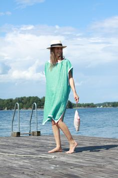 My Bags and Me My Things Wetbag, La Portegna Panama Hat, Rae Feather Jaquard Double Linen Kaftan.jpg