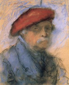 Rippl Last Self-portrait - Category:Pastel paintings by József Rippl-Rónai in the Hungarian National Gallery - Wikimedia Commons Portrait Photo, Photo Art, National Gallery, Avant Garde Artists, Post Impressionism, French Art, Famous Artists, Online Art Gallery, Artist At Work