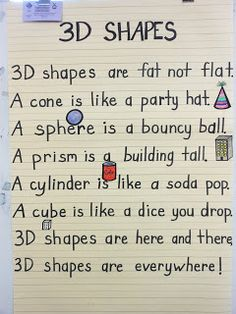 Cute poster about shapes    Pinned by Penina  Penina Rybak MA/CCC-SLP, TSHH  CEO Socially Speaking LLC  Twitter:@PopGoesPenina  www.SociallySpeakingLLC.com