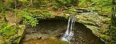 Blue Hen Falls, Cuyahoga Valley National Park, Brecksville, Ohio