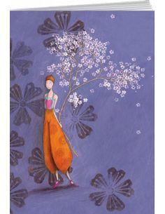 """Gaëlle Boissonnard cahier à dessins """"La branche en fleurs"""""""