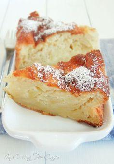 torta di mele soffice senza burro e olio - soft apple cake with no butter/oil