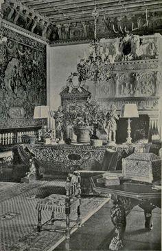 Vizcaya in 1917: The Interiors