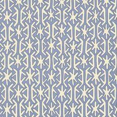 Havana Wallpaper - Blue - Furbish