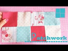 PATCHWORK | COMO UNIR CUADRADOS - YouTube Tutorial Patchwork, Marie Suarez, Ruffle Pillow, Tin Can Crafts, Quilting, How To Finish A Quilt, Quilted Bag, Applique Quilts, Quilt Tutorials