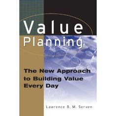 Value Planning: The New Approach to Building Value Every Day by Paperback