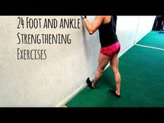 plantar fasciitis and shin splints exercises to help prevent and alleviate pain. Ankle Strengthening Exercises, Shin Splint Exercises, Foot Exercises, Shin Splints, Ankle Mobility Exercises, Ankle Stretches, Sprained Ankle Exercises, Weight Exercises, Hiit