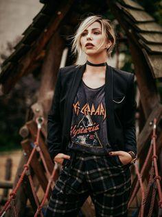 Très Jolie (Masha Sedgwick) - New Site Rock Outfits, Edgy Outfits, Grunge Outfits, Grunge Fashion, Fashion Outfits, Fashion Trends, Fashion Music, Sneakers Fashion, Cheap Fashion
