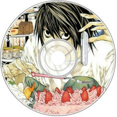 Anime Diys, Anime Crafts, L Death, Death Note, Poster Anime, Anime Stickers, Cd Decor, Cd Project, Animes Wallpapers