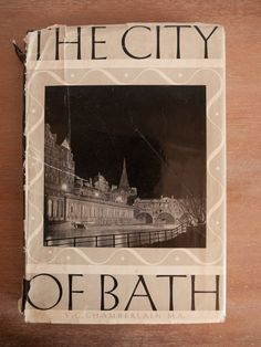 Vintage book: 'The City of Bath' by V C by freshdarling on Etsy Vintage Vibes, Vintage Style, What Is Vintage, Reclamation Yard, Yard Sale, Vintage Photography, Monochrome, Bath, Etsy