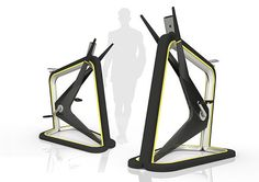 Vito - Home Exercise Bike by Rob Melville. The Vito cycling system dares to be… Home Exercise Bike, Cycling Machine, Home Gym Machine, Folding Treadmill, Vito, No Equipment Workout, Fitness Equipment, Medical Equipment, Training Equipment