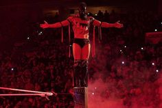 """WWE no Instagram: """"#TheDemon goes EXTREME ahead of #ExtremeRules! #SmackDown"""" Wrestling Stars, Wwe Roman Reigns, Finn Balor, Deadpool, Wonder Woman, Superhero, Concert, Profile, Instagram"""