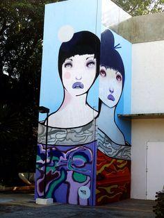 Street art by Nick Alive in Brazil
