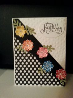 New Petite Petals stamp set with coordinating punch. Bundle it and save 15%.