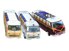 Рисунки автомобилей: отечественные РАФ-977Д 977И 977Е