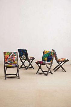 Overdyed Terai Folding Chair