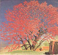 Baumann, Gustave - Cottonwood Tassels, c. 1943