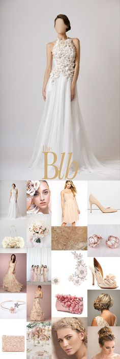 Blush Floral Bridal