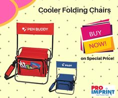 Getting SPRING ready?? How about adding a cherry to your promotional activity??  **Buy products now on special price!** https://www.proimprint.com/Custom-Insulated-Cooler-Folding-Chairs #foldingchairs #outdoorcamping #promotionalgifts