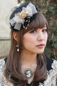 Dolly Kei headpiece by Grimoire.