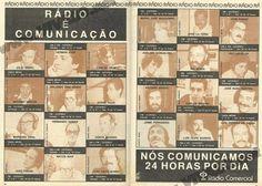 RÁDIO COMERCIAL- Rádio é Comunicação [1982]  Anuncio publicado na TV Guia http://viva80.pt/