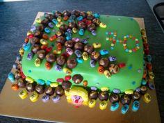 Centipede cake (70 legs)