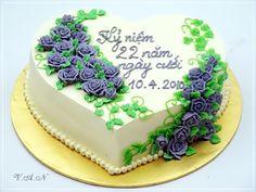 Tuyển tập hình ảnh bánh kem kỷ niệm ngày cưới vô cùng ngọt ngào và ý nghĩa 7