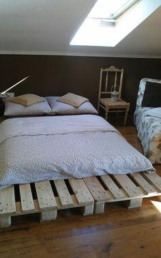 Sypialnia z palet