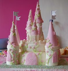 I think this is the prettiest one yet!  Yes, it's fondant, but we can do this!!!
