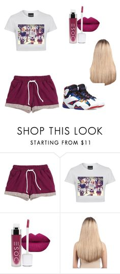 """""""Untitled #255"""" by azeneth10 ❤ liked on Polyvore featuring H&M, Extension Professional, Jordan Brand, women's clothing, women, female, woman, misses and juniors"""