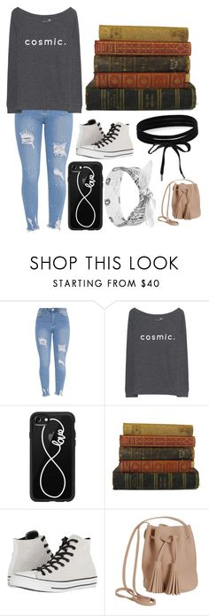 """""""I'll be searching"""" by nerdgirl-dork ❤ liked on Polyvore featuring Juvia, Casetify, Converse, Humble Chic and Boohoo"""