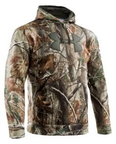Realtree AP Under Armour® Camo Big Logo Hoodie Pullovers for Men - Long Sleeve | Bass Pro Shops