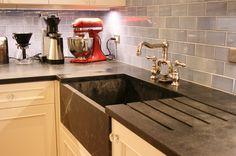 Soapstone kitchen counter top♡