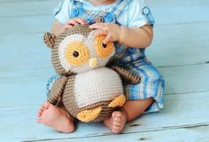 So cute!! Crochet pattern for a little crochet owl.