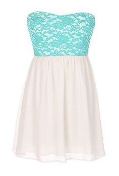 The Strapless Lace Mint Dress – 29 N Under on Wanelo – holdon Different Dresses, Simple Dresses, Pretty Dresses, Casual Dresses, Fabulous Dresses, Beautiful Dresses, Formal Dresses, Dance Dresses, Prom Dresses