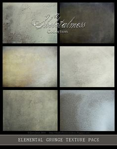 Shadowhouse Creations: Elemental Grunge Texture Pack