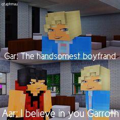 Garroth is the handsomest