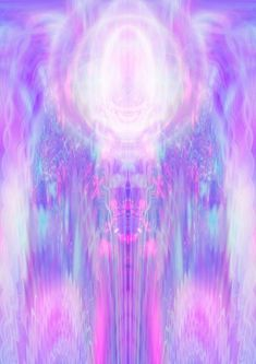"""VIOLET FLAME ANGEL BY WALTER BRUNEEL --- Commentary by the artist: """"In this violet ray realm, the violet flame angels within the violet and silver violet spectrum stand by to assist you in transmutation of dense and issue-related energies back into un Transmutation, Celestial, Angel Protector, Archangel Zadkiel, Art Visionnaire, The Violet, Ascended Masters, Angels Among Us, Mystique"""