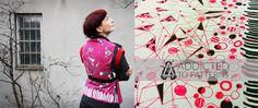 bespoke hand screen printed textiles www.justynamedon.com #handscreen printed #textiles #bespoke design