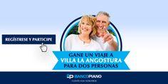 Banco Piano - Complete sus datos y participe por un espectacular viaje a Villa La Angostura para dos personas. Sume más chances para ganar, compartiendo la promo en sus redes sociales.