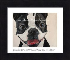 Fine Art Originals and Prints. Boston Terrier Rescue, Boston Terriers, Prints For Sale, Fundraising, Glow, Canada, Fine Art, Artist, Animals